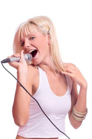 Сукс со знаменитой певицей